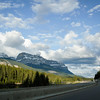 Heading back to Canmore through Banff National Park